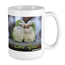 Brooklyn Parrots I LOVE YOU Drinking Mug