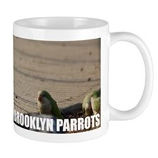 Parrots On The Pavement Drinking Mug
