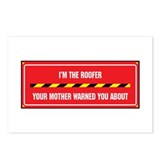 I'm the Roofer Postcards (Package of 8)