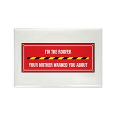 I'm the Roofer Rectangle Magnet (100 pack)