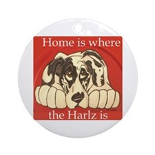 NH Harlz2 Ornament (Round)