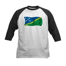 Wavy Solomon Islands Flag Tee