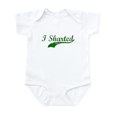 I SHARTED T-SHIRT  Infant Bodysuit