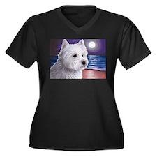 Dog 81 Westie Plus Size T-Shirt