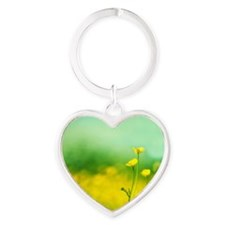 Smiling, Happy , Laughting Heart Keychain
