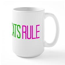 Cats Rule Mugs