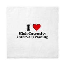 I Heart High-Intensity Interval Training Queen Duv