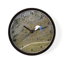 parachute flying Wall Clock
