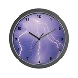lightning Wall Clock