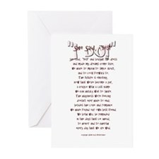 """I DO!"" Greeting Cards (Pk of 10)"