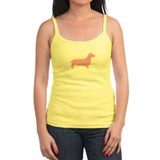 Just Dachshund (Pink) Ladies Top