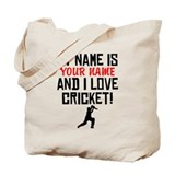 Cricket Canvas Totes