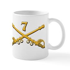 7Th US Cav Garry Owen W/Crossed Sabers Mug
