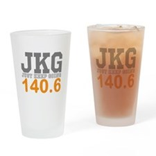 Just Keep Going 140.6 Drinking Glass