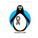 Autism Penguin Postcards (Package of 8)