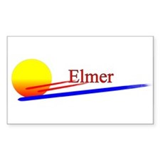 Elmer Rectangle Decal