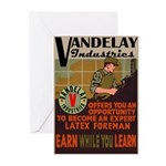 Retro Vandelay Industries Greeting Cards (Pkg 6)