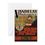 Retro Vandelay Industries Greeting Cards (Pkg 6)