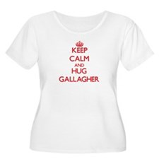 Keep calm and Hug Gallagher Plus Size T-Shirt