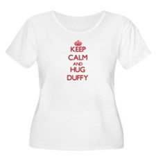 Keep calm and Hug Duffy Plus Size T-Shirt
