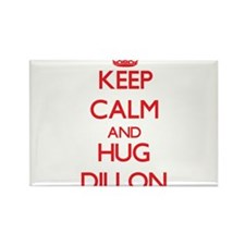 Keep calm and Hug Dillon Magnets