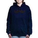 Mustache Hooded Sweatshirt