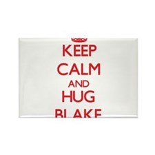 Keep calm and Hug Blake Magnets