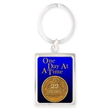 22-Year Chip Keychains