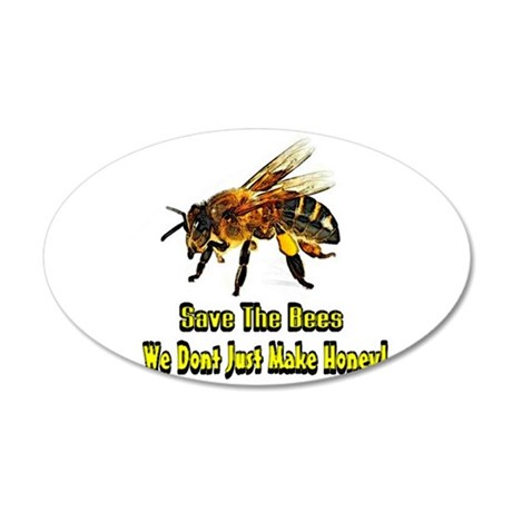 Save The Bees Wall Sticker