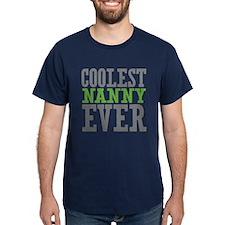 Coolest Nanny Ever T-Shirt