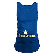 Future Superhero Maternity Tank Top
