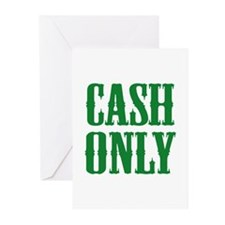 Cash Only Greeting Cards (Pk of 20)