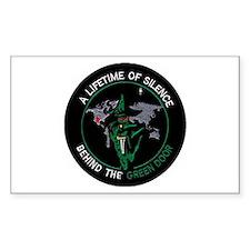 Green Door Outfit Bumper Stickers