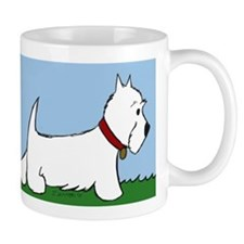 Westie Walk Coffee Mugs