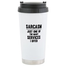 Sarcasm Ceramic Travel Mug