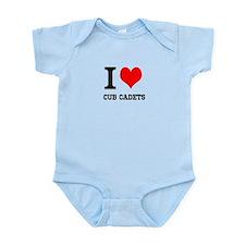 I Heart Cub Cadets Body Suit