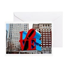 Love Philadelphia Greeting Card