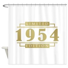 1954 Limited Edition Shower Curtain