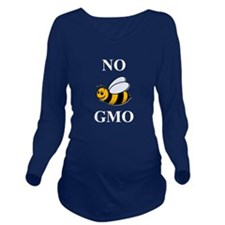Unique Gmo foods Long Sleeve Maternity T-Shirt