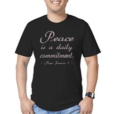 Mauve Peace Daily Comm T