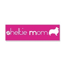 Cute Shelter dog mom Car Magnet 10 x 3