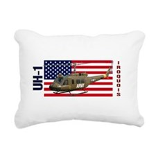 UH-1 Iroquois Rectangular Canvas Pillow