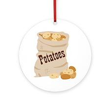 Potatoes Ornament (Round)