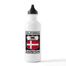 California Danish American Water Bottle