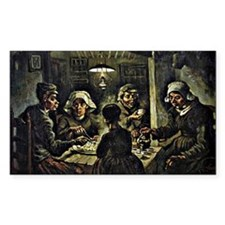 Van Gogh - The Potato Eaters,  Decal