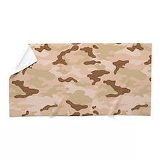 Desert Camouflage Beach Towel