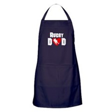Rugby Dad Apron (dark)