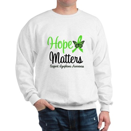 Hope Matters Lymphoma Sweatshirt