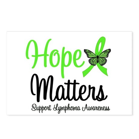 Hope Matters Lymphoma Postcards (Package of 8)