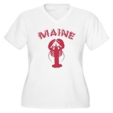 Maine Lobster Plus Size T-Shirt